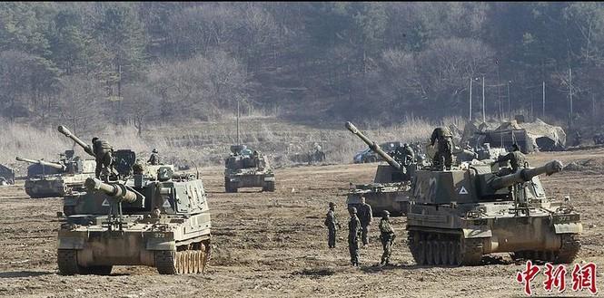Cận cảnh Mỹ - Hàn tập trận quy mô lớn - ảnh 1