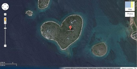 Hòn đảo hình trái tim
