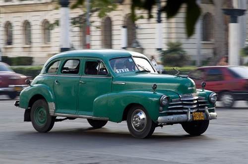 Xế cổ tại thủ đô Cuba - ảnh 6