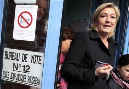Nhà lãnh đạo chính trị cực hữu của Pháp- bà Marine Le Pen