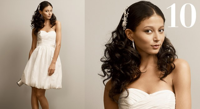 Mười kiểu tóc cô dâu 'hot' năm 2011 - ảnh 9
