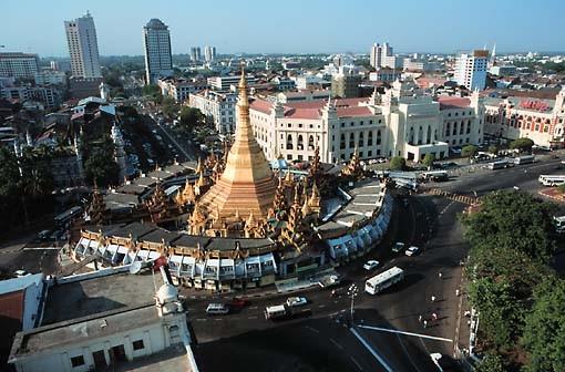 Thủ đô Yangon Myanmar. Ảnh: Myanmar Guardian