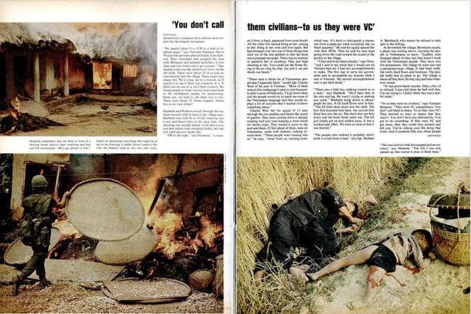 45 năm vụ thảm sát Mỹ Lai trên báo Mỹ - ảnh 5