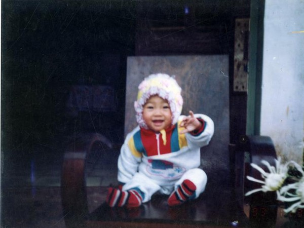 Hình ảnh dễ thương khi còn nhỏ của Trà My
