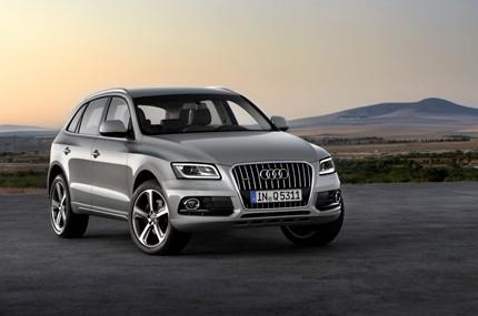 2013 Audi Q5 bản nâng cấp lộ diện - ảnh 1