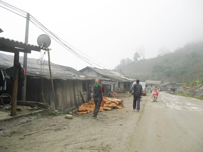 Một góc bản làng Nậm Cắn