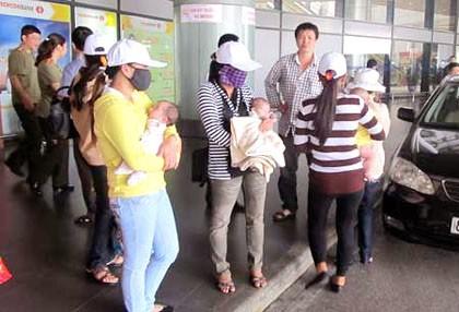 Những cô gái trong vụ án đẻ thuê ở Thái Lan