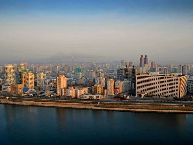 Thủ đô Bình Nhưỡng bên dòng sông Taedong