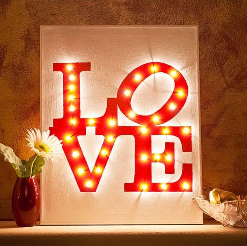 Những ý tưởng trang trí lãng mạn cho Valentine - ảnh 22