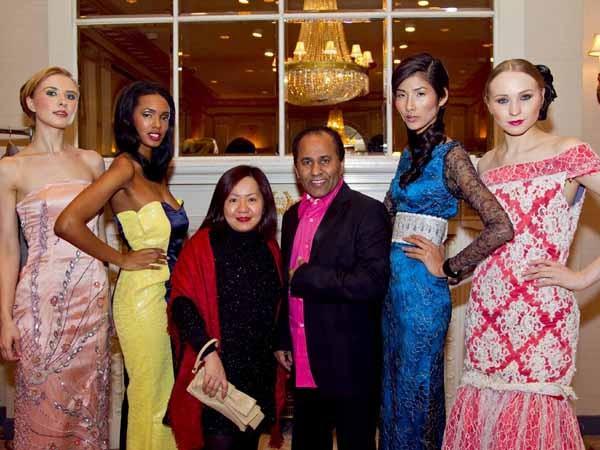 Hoàng Thùy lọt mắt xanh 'cha đẻ' Couture Fashion Week - ảnh 16