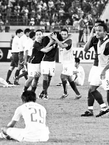 U 23 Việt Nam thất bại tại SEA Games 25. Ảnh: T.Vũ
