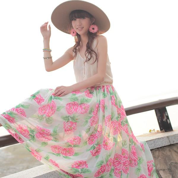 Váy maxi tung tăng đón nắng hè - ảnh 19
