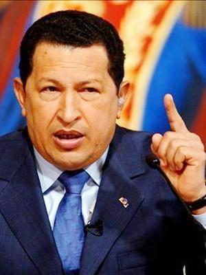 Tổng thống Venezuela Hugo Chavez             Ảnh: abkhaziatoday