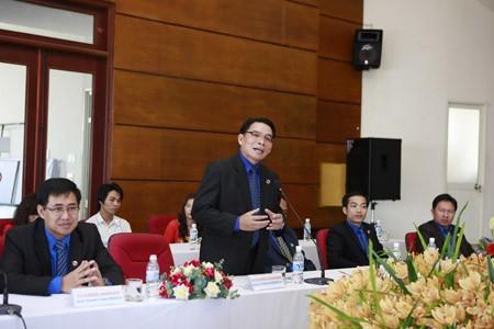 Đoàn TN NDCM Lào thăm, làm việc với Báo Tiền Phong - ảnh 9