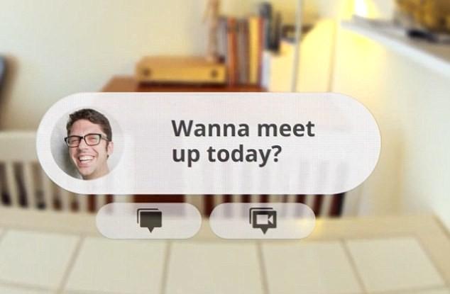 Kính thông minh giúp gửi email, chat video - ảnh 2