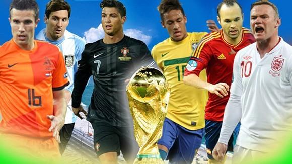Những ngôi sao đang được chờ đợi sẽ xuất hiện tại Brazil Hè 2014