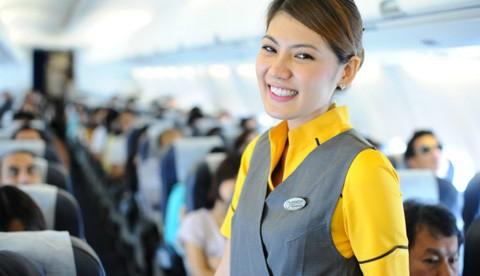 Nok Air không có tiếp viên hàng không nào trên tuổi 30