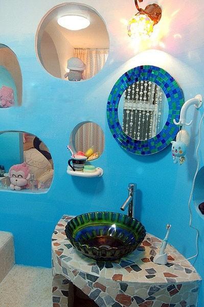 Nội thất xanh dương cho nhà mát lạnh - ảnh 11