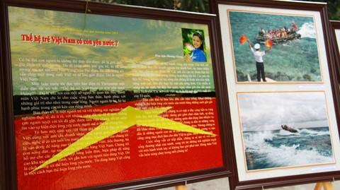 Cảm xúc về Hành trình tuổi trẻ vì biển đảo quê hương của hoa hậu Hương Giang