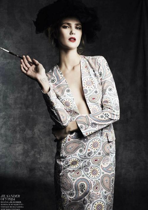 Hai siêu mẫu ngọt ngào trên Harper Bazaar - ảnh 6