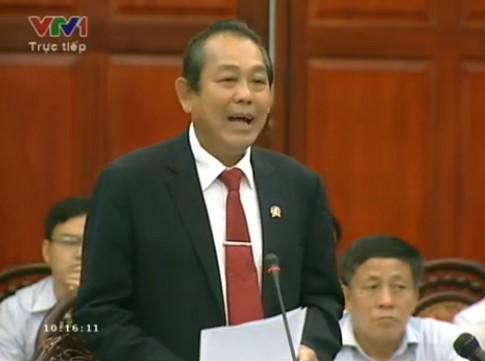 Chánh án Nguyễn Hòa Bình: