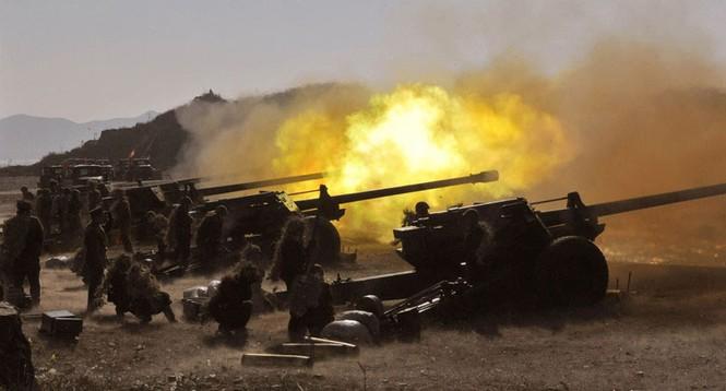 Những hình ảnh quân đội Triều Tiên