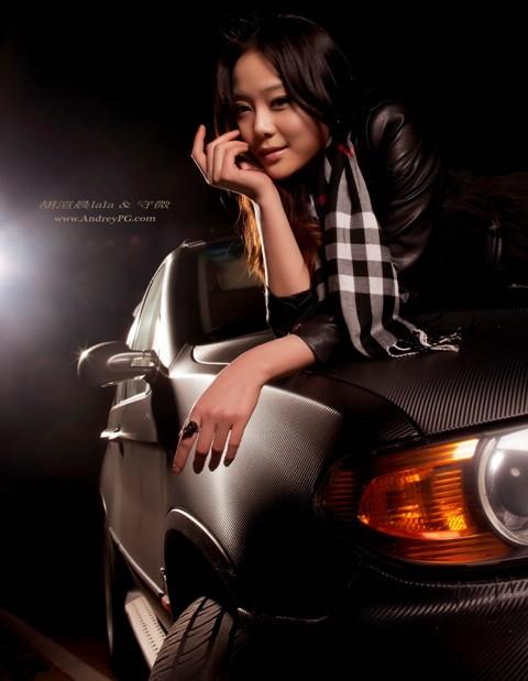 Chân dài dịu dàng bên BMW - ảnh 7