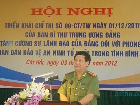 Ông Nguyễn Bình Kiên phát biểu tại một hội nghị