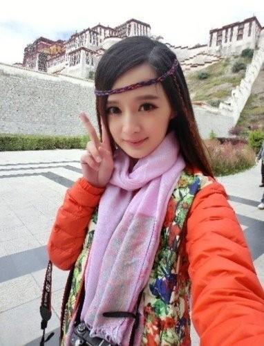 Fan phát cuồng vì 'bản sao' Dương Mịch - ảnh 2