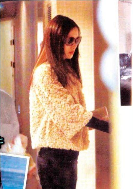 Bức ảnh được cho là của Dương Mịch khi đang đến bệnh viện để 'nâng cấp' vòng một