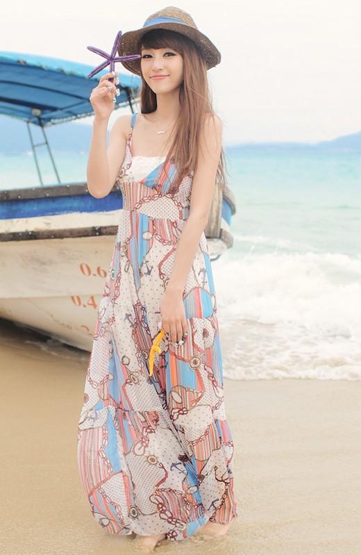 Váy maxi tung tăng đón nắng hè - ảnh 8