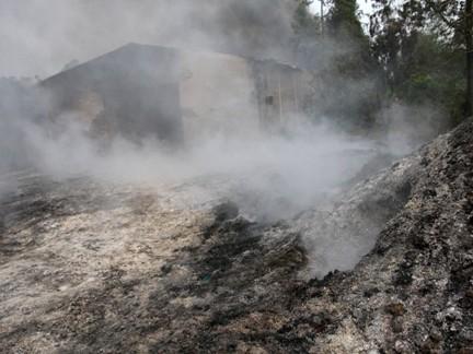 Cháy lớn tại xưởng sản xuất nhựa, thiệt hại hơn 2 tỷ đồng - ảnh 4