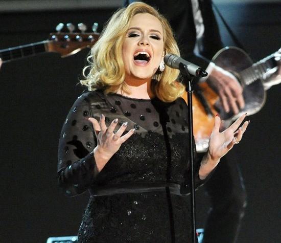 Adele – Nữ hoàng Grammy 2012 - ảnh 2