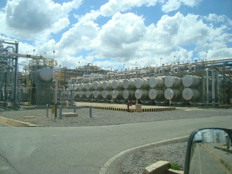 Một góc tổ hợp lọc dầu Orinoco