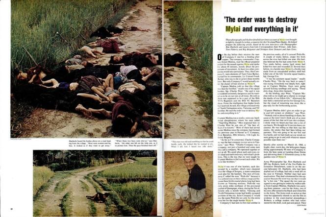 45 năm vụ thảm sát Mỹ Lai trên báo Mỹ - ảnh 2