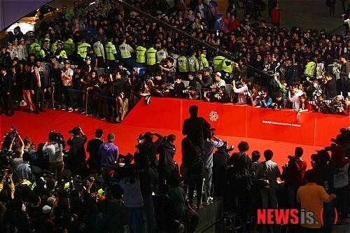 Thảm đỏ chờ đón các ngôi sao tại LHP Busan