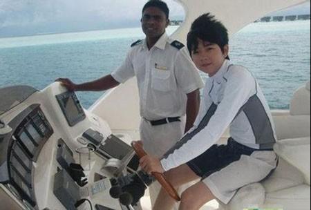 Du thuyền cũng là một trong những món đồ             xa xỉ của con nhà giàu Trung Quốc