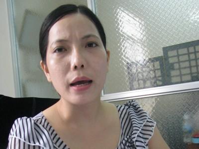 Bà Trần Hồng Ly.             Ảnh: QUỐC HUY