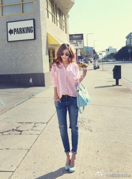 Cuối tuần xuống phố cực chất với quần jeans - ảnh 4