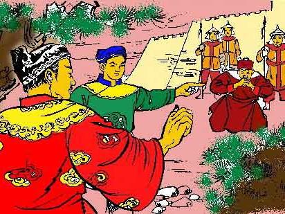 Thái tử đề nghị khép tội tử Cự Đà vì phản quốc bởi quả muỗm