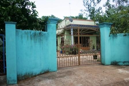 Căn nhà bà Hường đóng cửa im ỉm kể từ ngày bà bị bắt