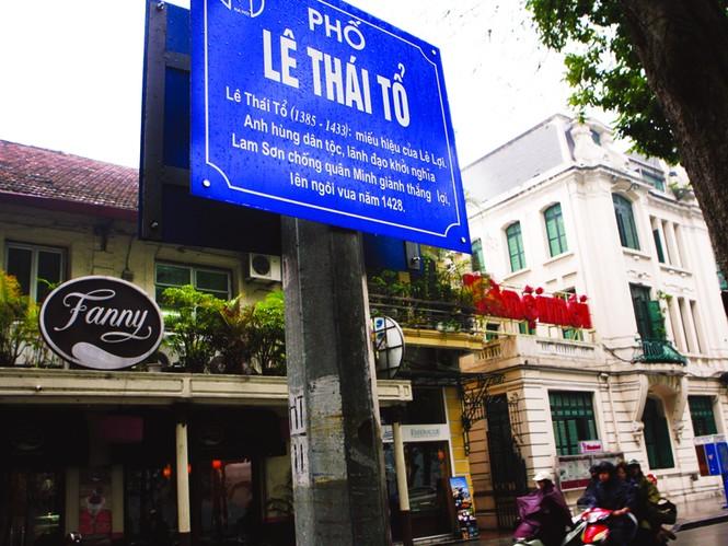 Tên phố có chú giải ở Hà Nội: Lẽ ra phải làm từ lâu - ảnh 3