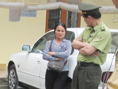 Chủ lô hàng cầy hương là Nguyễn Thị Đương
