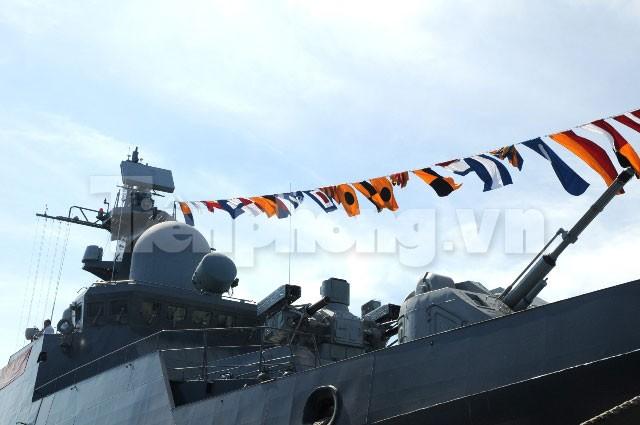 Khám phá uy lực chiến hạm Lý Thái Tổ - ảnh 6