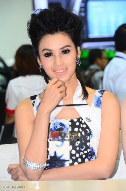 Nhan sắc ngập tràn triển lãm Bangkok 2013 - ảnh 14
