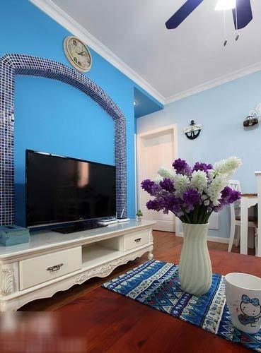 Nội thất xanh dương cho nhà mát lạnh - ảnh 6