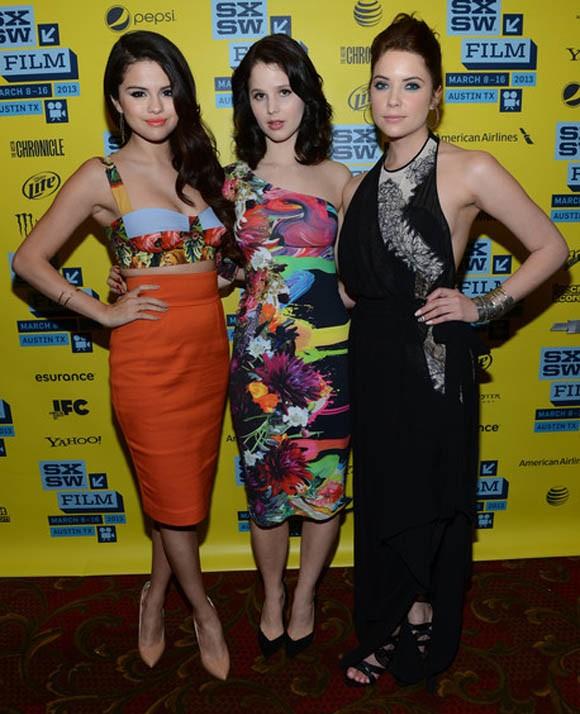 Ba ngôi sao của Spring Breakers - Selena Gomez, Rachel Korine và Ashley Benson