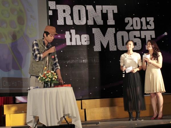Nữ sinh Ngoại thương đạt giải MC vàng tiếng Anh 2013 - ảnh 9