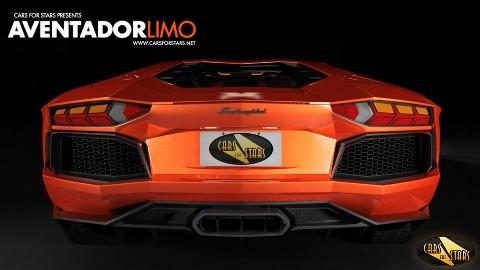 Ngắm Lamborghini Aventador Limo - ảnh 3