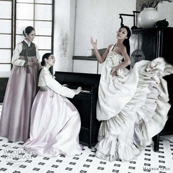 Quyến rũ trang phục cưới Hanbok hiện đại - ảnh 8